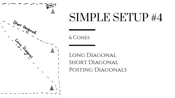 Diagonal Work (Lines & Posting) in Simple Setup #4