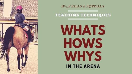 Whats, Hows, Whys in the Arena
