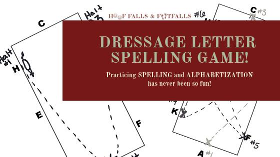 Dressage Letter Spelling Game