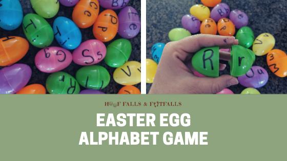 Easter Egg Letter & Spelling Game