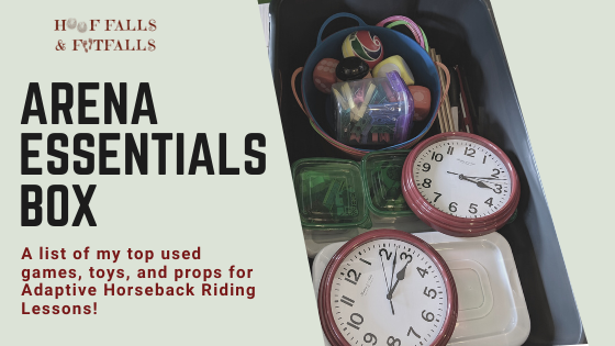 """""""ARENA ESSENTIALS""""- My Top Used Games, Toys, and Props for Lessons!"""