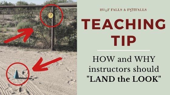 Teaching Tip: Land the Look