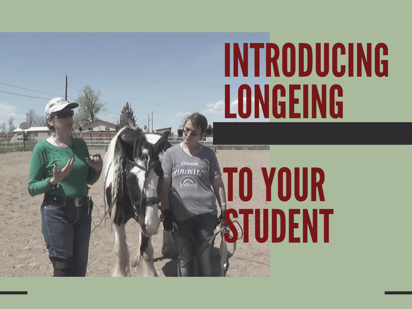 Video Cover for Introducing Longeing to Your Student