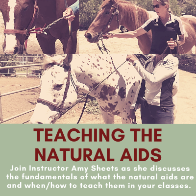 Cover for Teaching the Natural Aids Series