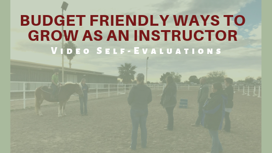 Budget Friendly Ways to Grow As an Instructor- Video Self-Evals