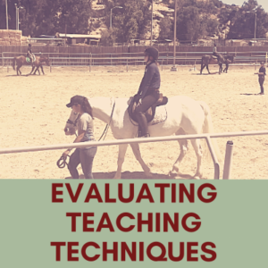 Evaluating teaching techniques cover photo