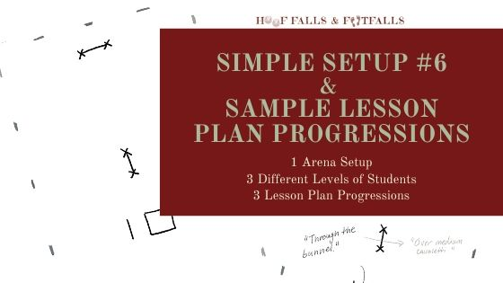 Simple Setup #6 with 3 Sample Lesson Progressions