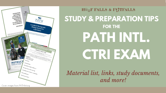 Study Tips for the PATH Intl. CTRI Exam
